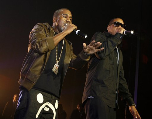 Cool black media jay z and kanye west the timeline of partnership produced by virginia native lex luger the track is the first from ye and jays forthcoming joint lp watch the throne malvernweather Gallery