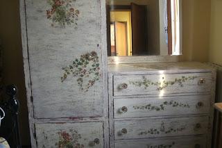 Delizioso d coupage novembre 2009 - Decoupage su mobili vecchi ...