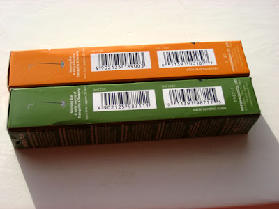 Double barcodes on incense