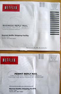 Netflix & POSTNET barcodes