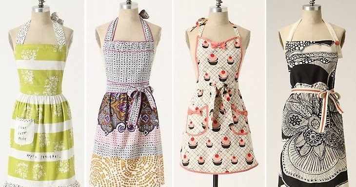 Sincerely cecelia stylish aprons for Anthropologie cuisine couture apron