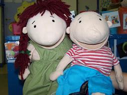 Onze 2 vriendjes Jules en zijn zusje Juliette!