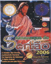 FOLHETIM DO ALMANAQUE DO SERTAO ANO DOIS MIL E  SEIS