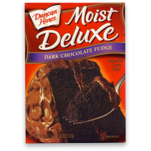 Duncan Hines Dark Chocolate Cake Mix