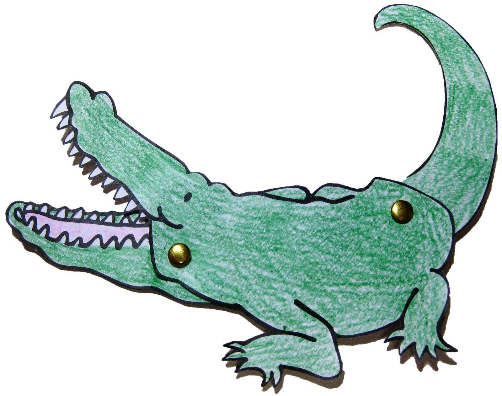 Alligator Crafts For Preschoolers Topsimages