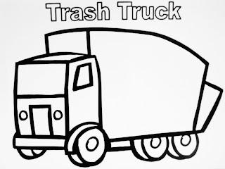 Transportation School Buses And Trash Trucks