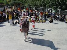 Bou Mascart menant a la dansa els segadors