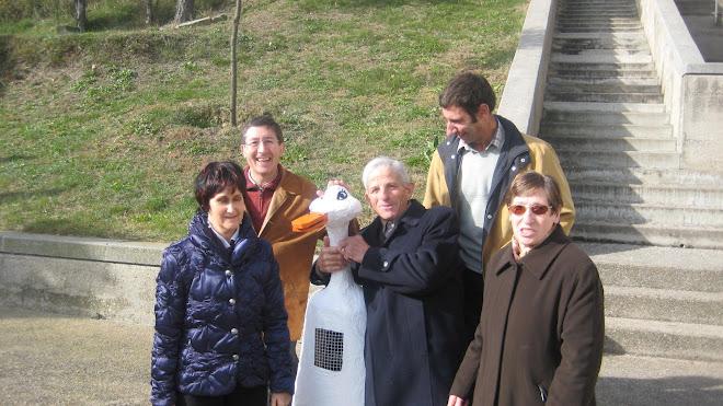L'Oca del Novenari amb la Comissió de Pastoral de Sant Vicenç de Malla