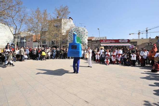 Paó Zel de Malla dansant a Can Palet (Terrassa) 22-3-09