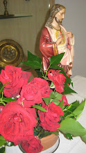 Sagrat Cor i roses