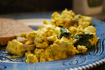 Scrambled Tofu With Collards And Turmeric Recipes — Dishmaps