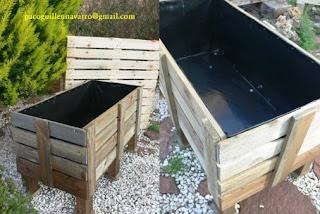 Mesas de cultivo ecol gicas - Drenaje mesa de cultivo ...