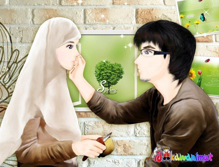 Isteri : Alhamdulillah, syukur.
