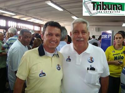 Charles Fernandes e Nilo Coelho