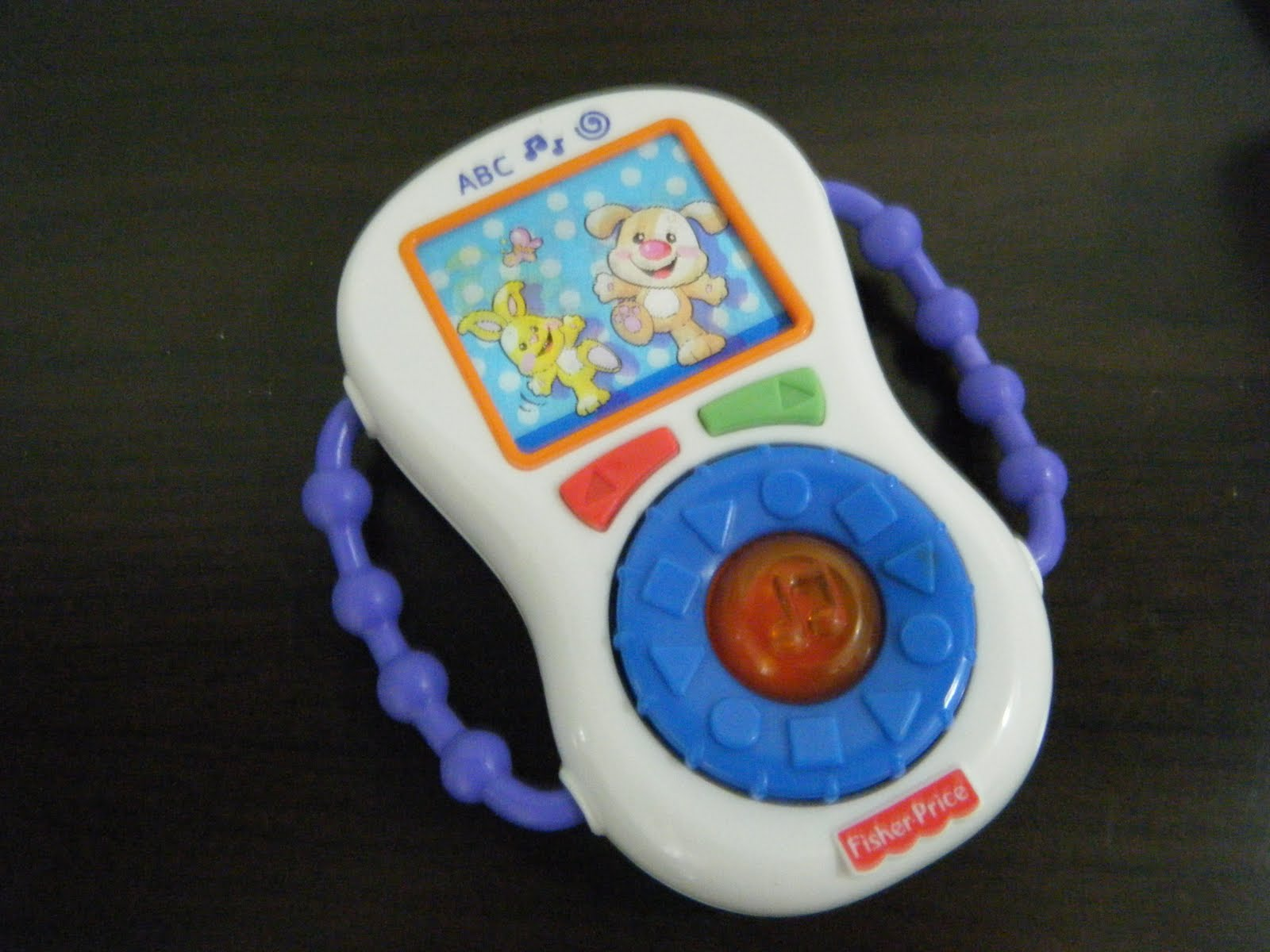 Baby kidsmarket fisher price musical phone tv for Fisher price fish bowl