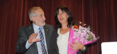 Ferreras, a la conclusión del pregón de la XIX Semana Cultural del Centro Leonés en Valladolid.