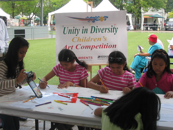 """Unity in Diversity"" CHILDREN'S ART"