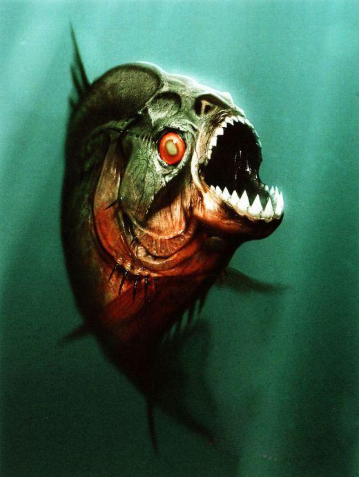 Zombies are Magic!: Piranha -3D