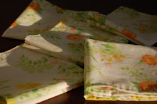 Tutorial: Hand-stitched dinner napkins