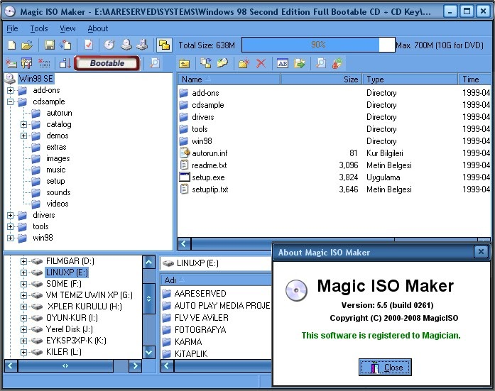 Magic iso maker 5.5 portable