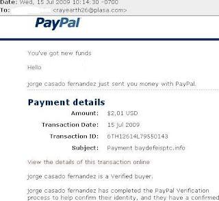 Bukti Pembayaran dari Baydefeisptc
