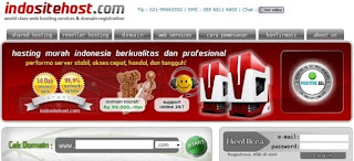 Hosting murah Indonesia indositehost.com