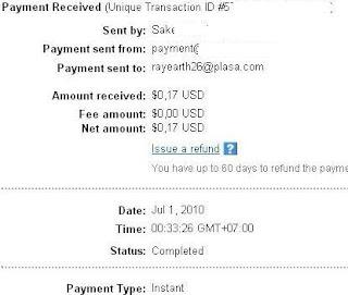Pembayaran dari Cashtream PTC, no scam