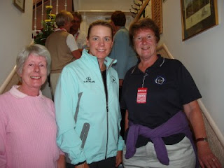 Sally Coster, Annika Sorestam and Jean Campbell