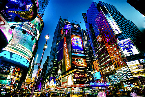 Time Square NYC by Diez Photography
