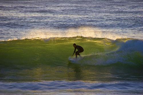 Surfing La Jollaby Aram Perez