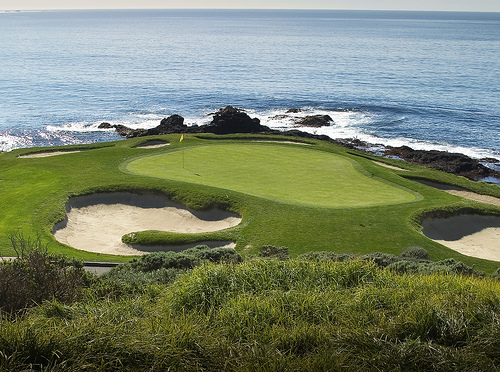 Pebble Beach #7 by Simonds