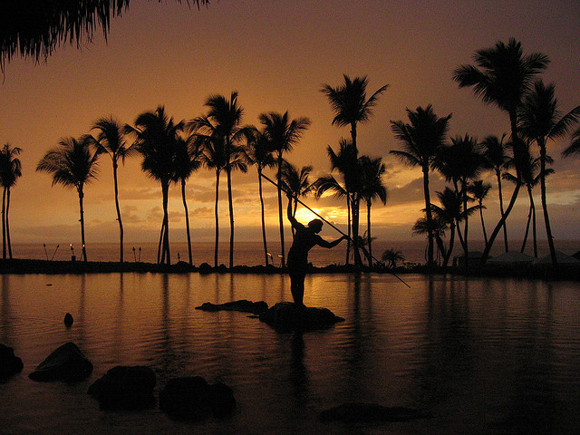 Sunset at Wailea, Maui by Mastery of Maps