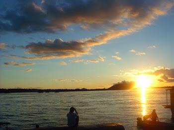 Sunset no rio Negro - São Gabriel da Cachoeira