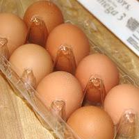 Anticancer diet Omega 3 eggs