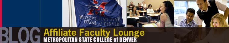 Affiliate Faculty Lounge - Metro State College