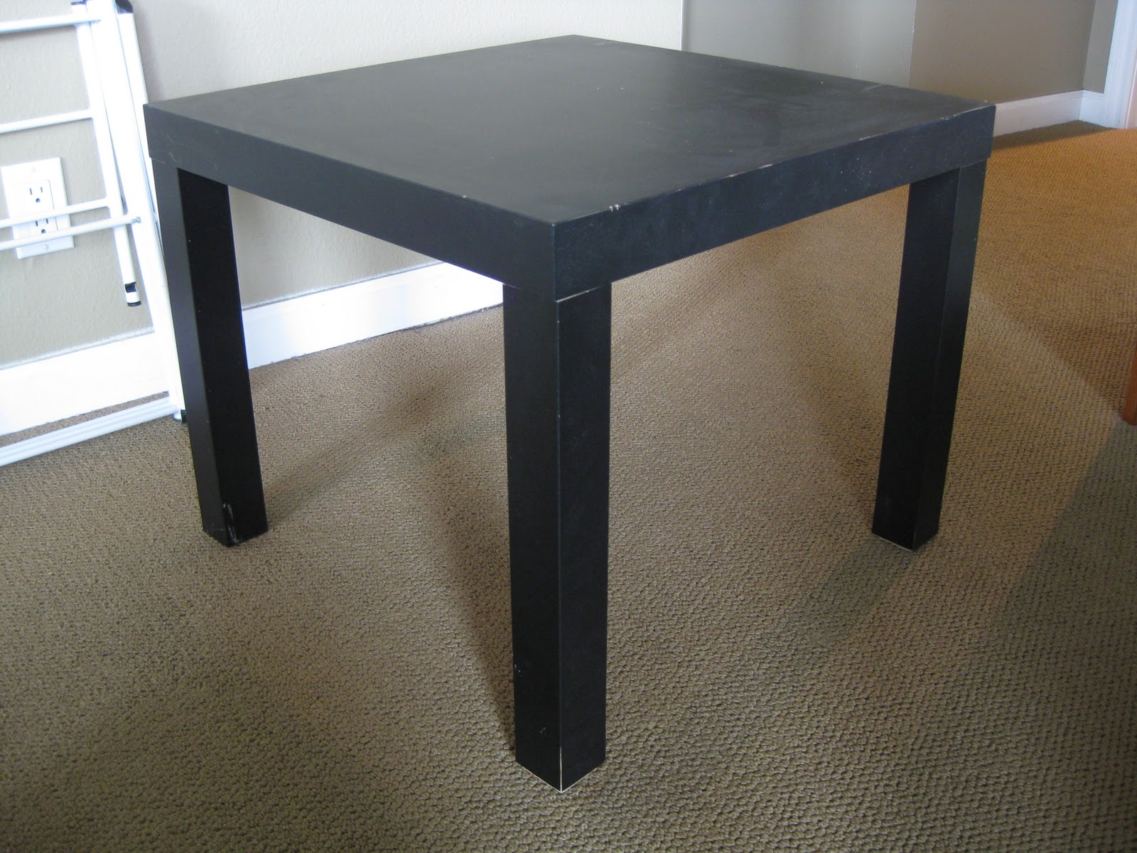 ... End Table From Ikea ...