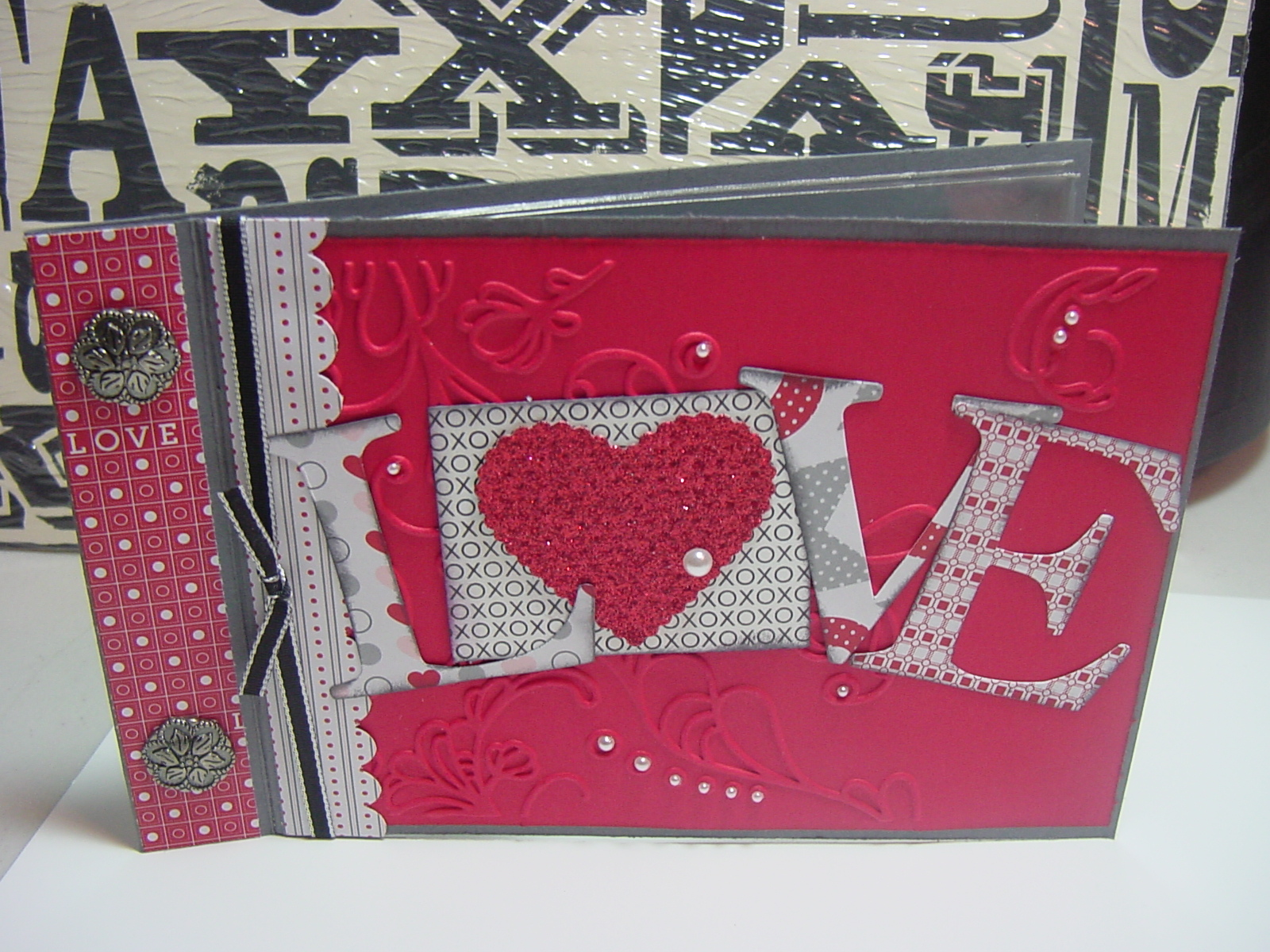How to make scrapbook simple - Love This Simple Scrapbook Which Is Great For A Best Friend Or A Boyfriend Or A Spouse Easy Easy To Make