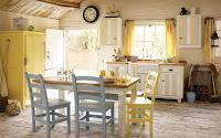 Two Swedish Cottages: Farglada och lantliga kok
