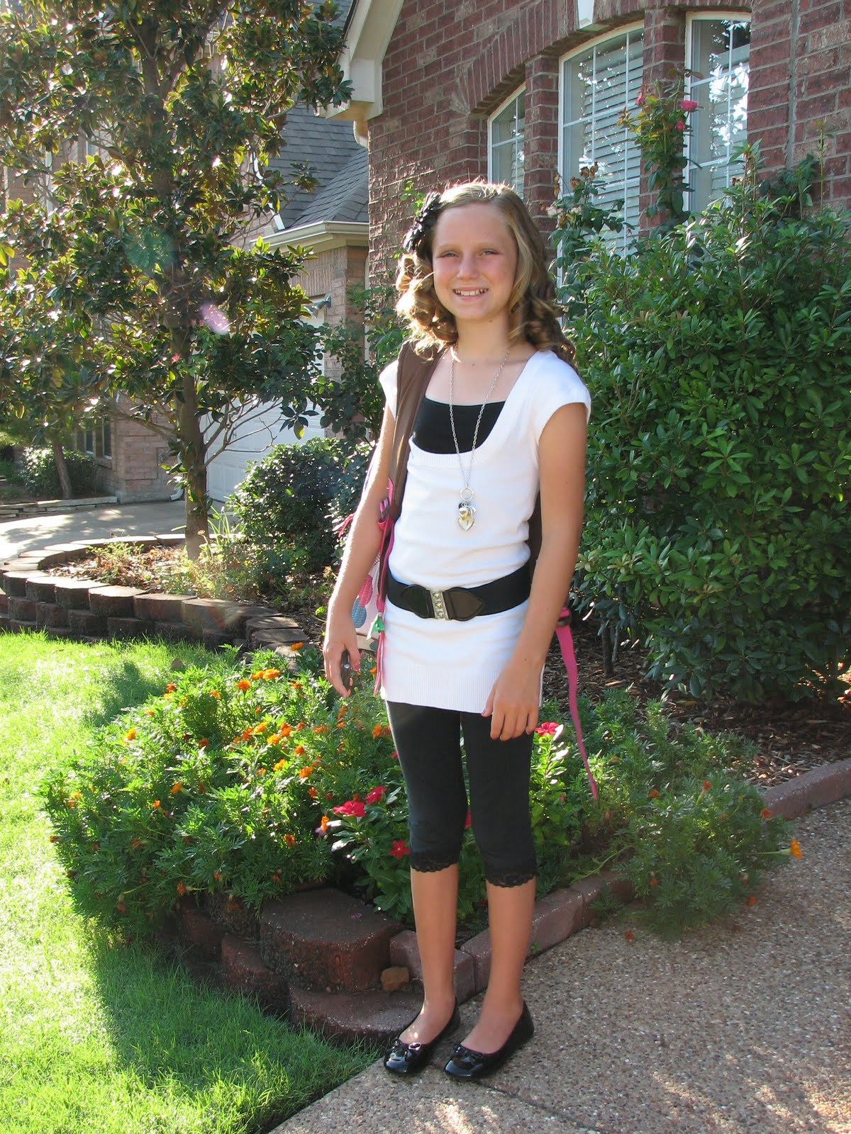 my first day in 6th grade
