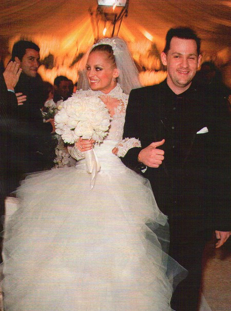 Nicole Richie's Grace Kelly Inspired Wedding Gown