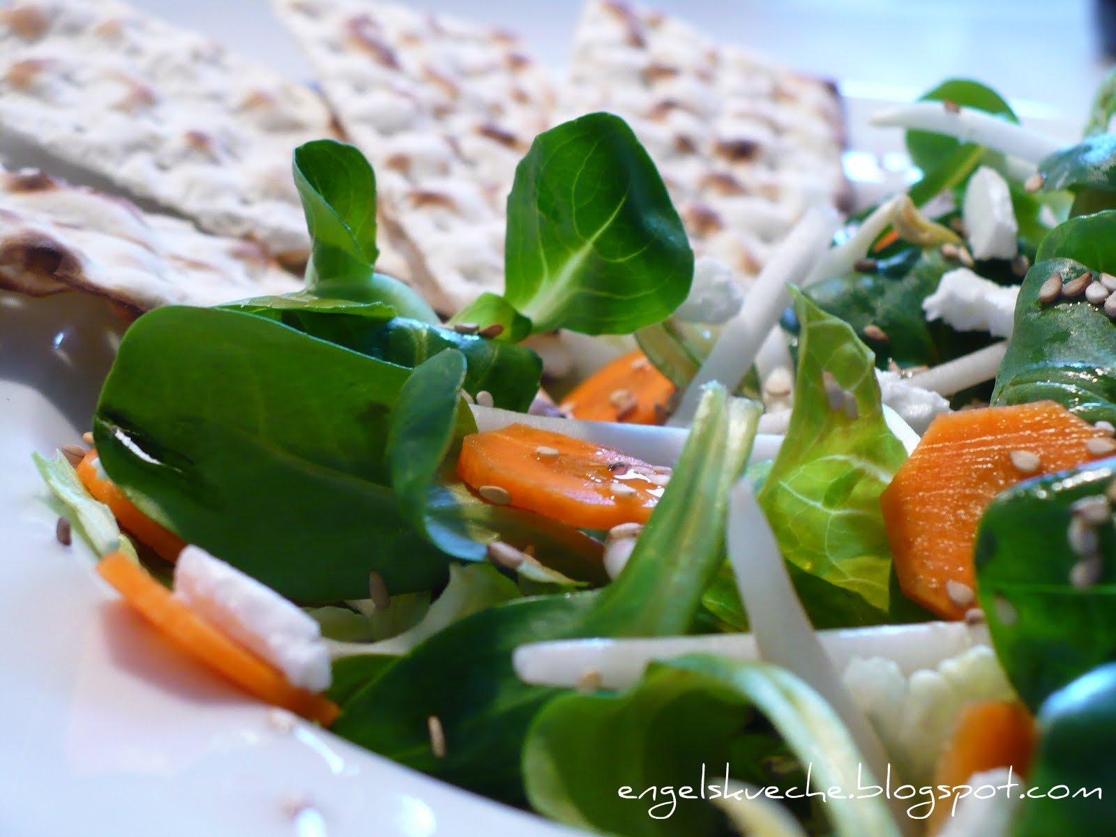 Essen Aus Engelchens K Che Salat Mit Sprossen Karotten