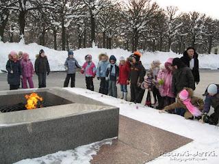 Детские Рисунки Пискаревское мемориальное кладбище экскурсия вечный огонь