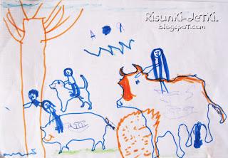 Детские Рисунки животные трафарет зверюшки корова собака свинья