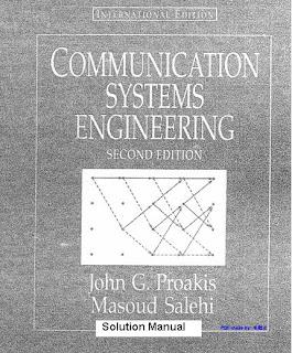 communication systems engineering proakis solution rh aurangozeb blogspot com communication systems engineering proakis solutions manual Proakis Communication Theory 2nd Edition