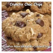CRUNCHY CHOC CHIPS