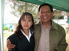 Ing. Jorge A. Frías y Lic. Mayra Esparza