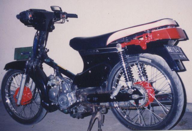 Gambar Motor Honda Astrea Star Modifikasi title=