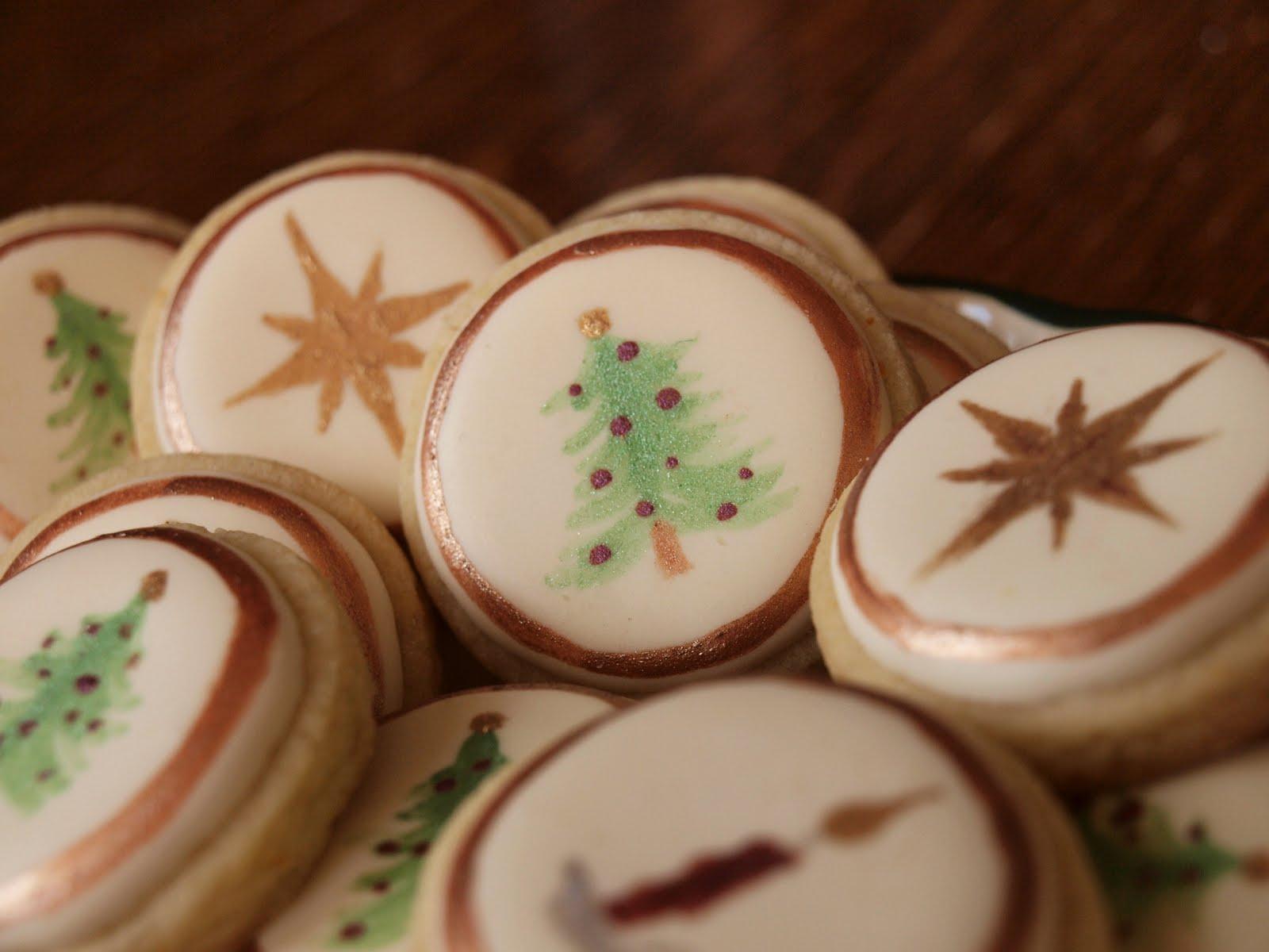 Sweetambs Christmas Button Cookies