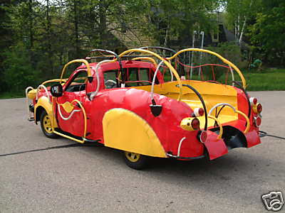 Dr Seuss Fire Truck - Art Car