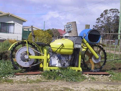 Really Big Motorycle Mailbox
